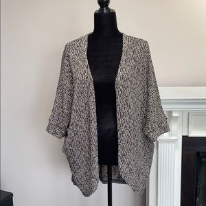 Mossimo Open Front Oversized Relaxed Fit Cardigan